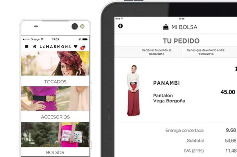 <p>La Más Mona: alquiler de ropa para 'fashionistas' preocupadas por el medio ambiente.</p>