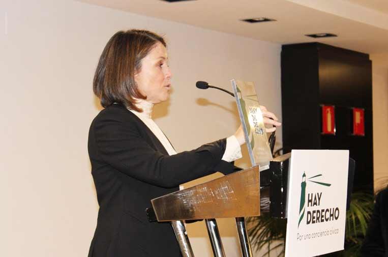 <p>Elena Biurrum, exalcaldesa de Torrelodones (Madrid).</p>