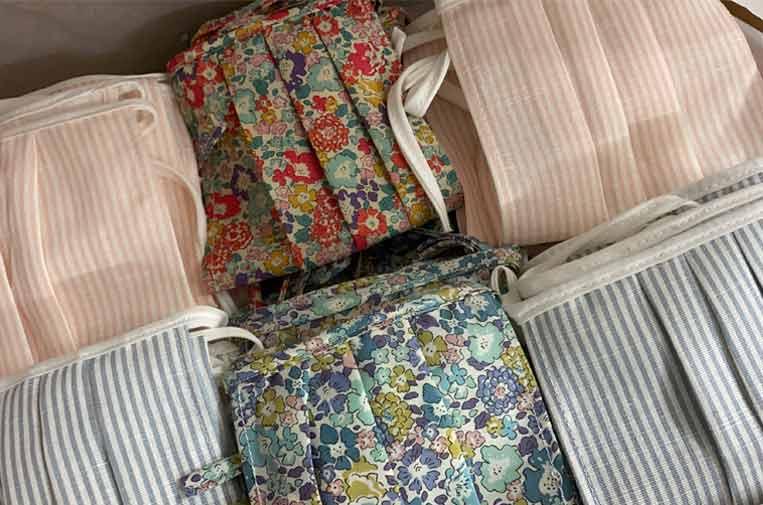 Manos de toda España se unen para coser mascarillas sanitarias