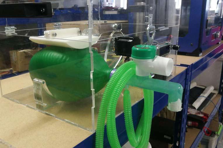 'Makers' piden colaboración para producir respiradores con impresoras 3D