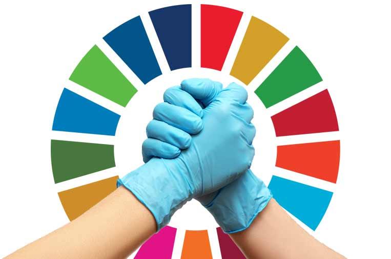Los ODS, amenazados por el coronavirus, pero salvables con colaboración