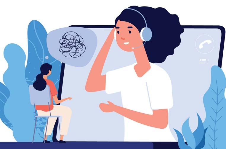 Las empresas se ocupan de la salud psicológica de empleados y ciudadanos durante la COVID-19