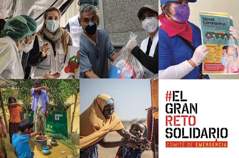 El Comité de Emergencia organiza una gala online a favor de los más vulnerables de la pandemia