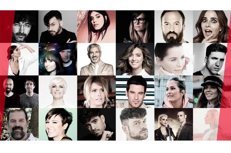 <p>Más de 50 artistas e 'influencers' nacionales e internacionales participarán en #ElGranRetoSolidario del sábado 2 de mayo.</p>