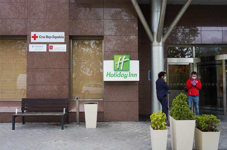Madrid habilita un hotel para personas sin hogar con síntomas leves de coronavirus