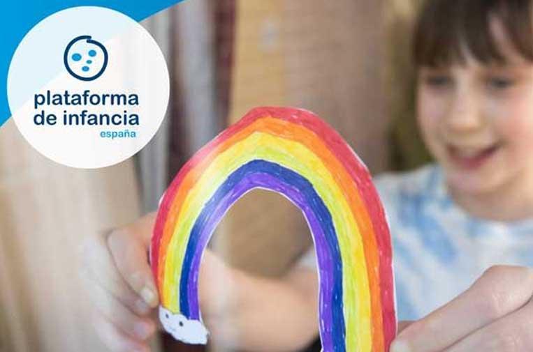 Plataforma de Infancia pide 100 medidas para proteger a los niños de la crisis