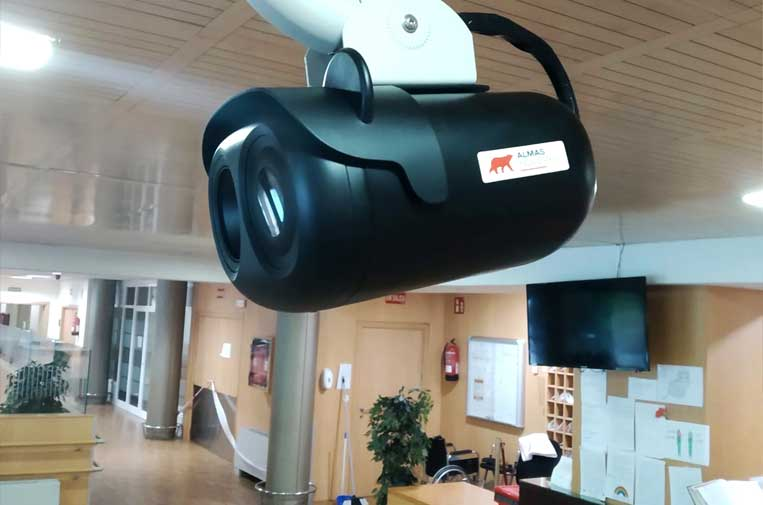 <p>B+Safe, filial española del Grupo Almas Industries instala cámaras termográficas fijas y portátiles.</p>