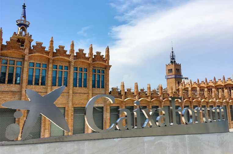 <p>CaixaForum Barcelona.</p>