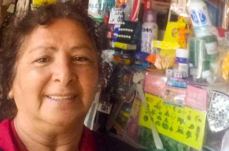 <p>Marisa Brisuela mantiene activo su emprendimiento.</p>