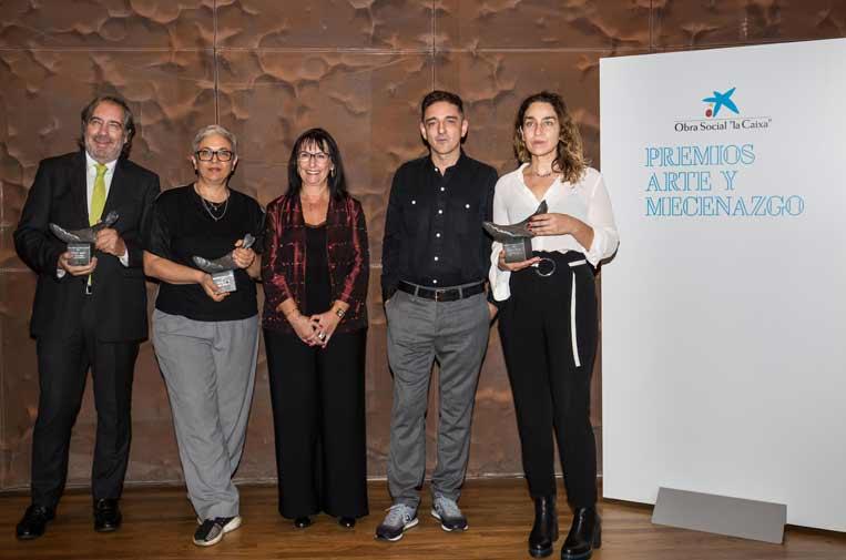<p>Premios Arte y Mecenazgo 2018 en una ceremonia en CaixaForum Madrid.</p>