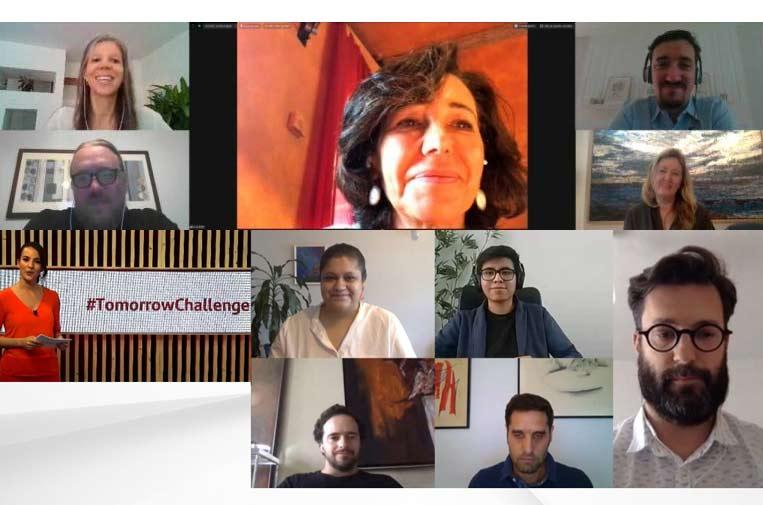 Santander X Tomorrow Challenge premia 20 'startups' frente la COVID
