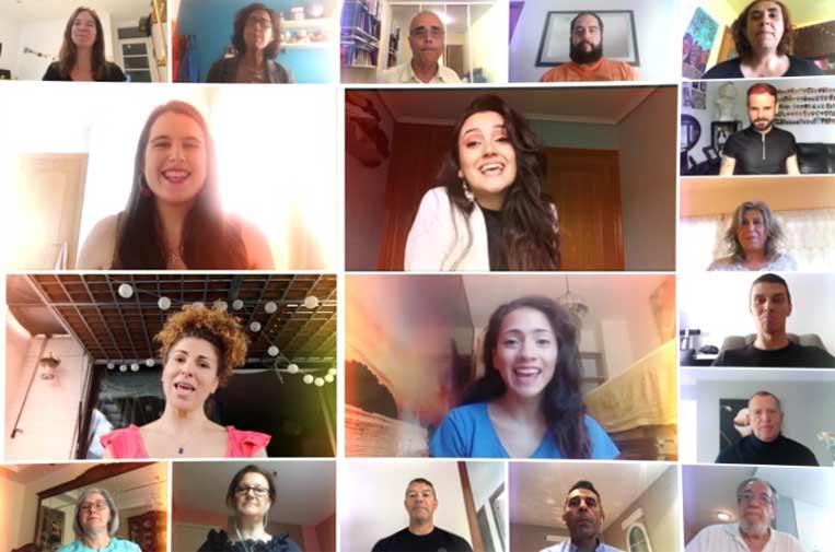 """<p>Más de 640 personas se unieron en el vídeo coral participativo 'Viva la Vida' organizado por la Fundación """"la Caixa"""".</p>"""