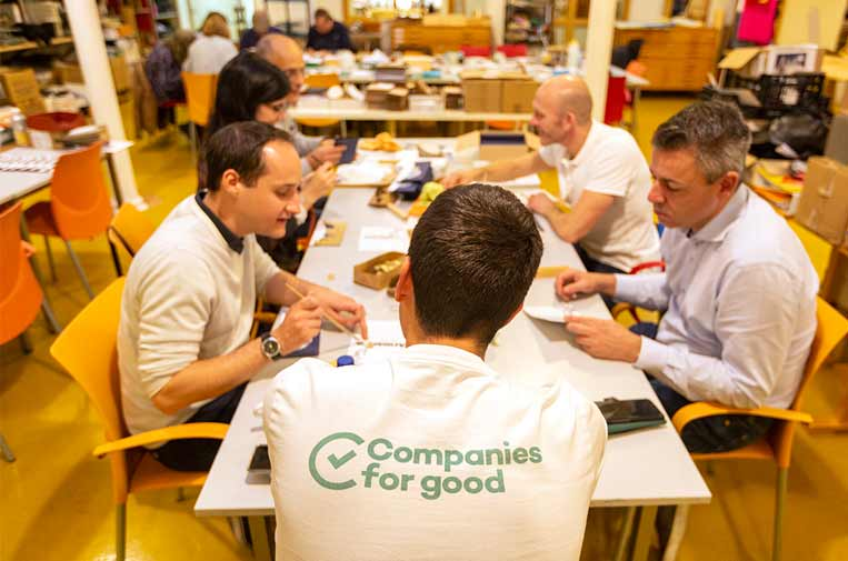 <p>Equipo de Companies for Good.</p>