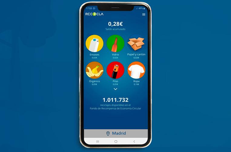 Pensumo lanza una 'app' que paga a los ciudadanos por reciclar