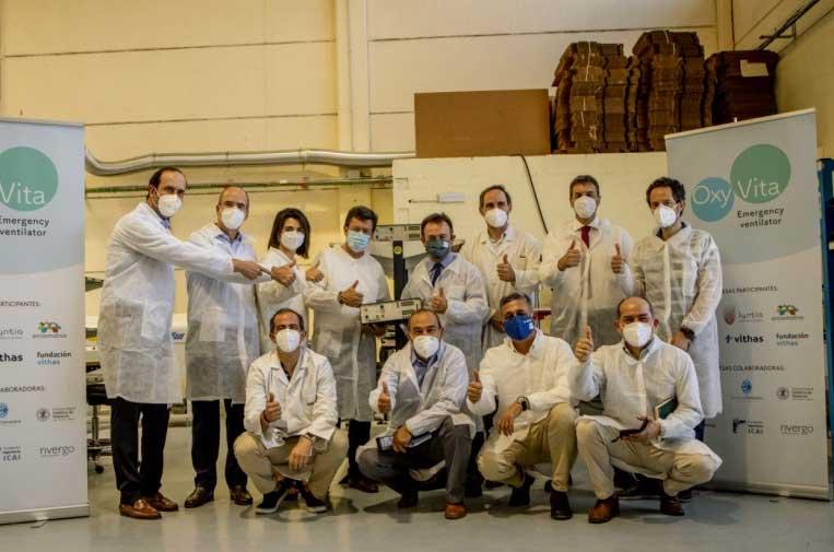 Oxyvita: el respirador solidario, eficiente y de bajo coste llega a América Latina