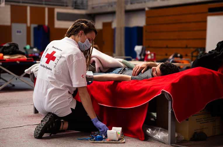 Cruz Roja ha apostado por la transparencia en su actuación frente a la COVID-19