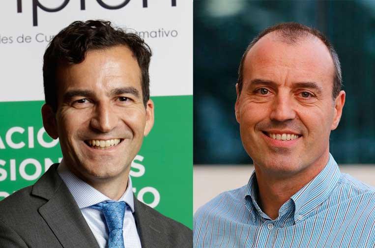 <p>David L. Medína y Alfredo Casares.</p>