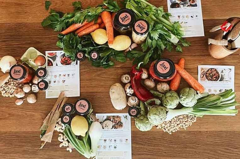 Crean foodStories, 'packs' de comida sana con envases recirculables y 'zero waste'