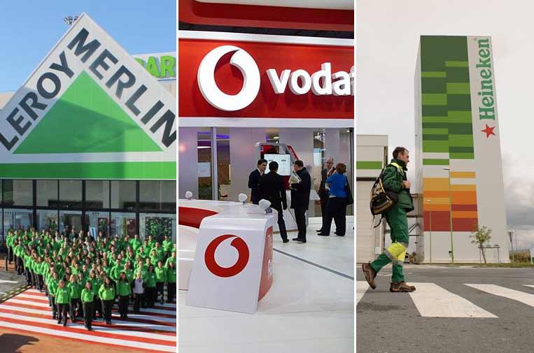 Leroy Merlin, Vodafone y Heineken, únicas extranjeras que explican su contribución en España