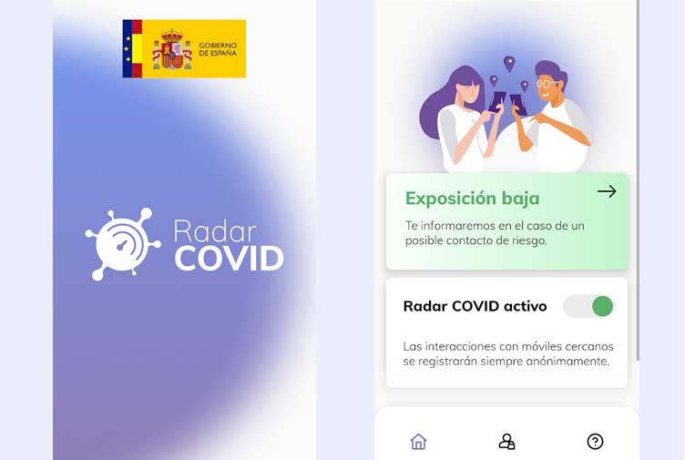 La 'app' española de alerta de contagios RadarCOVID, activa en 10 comunidades
