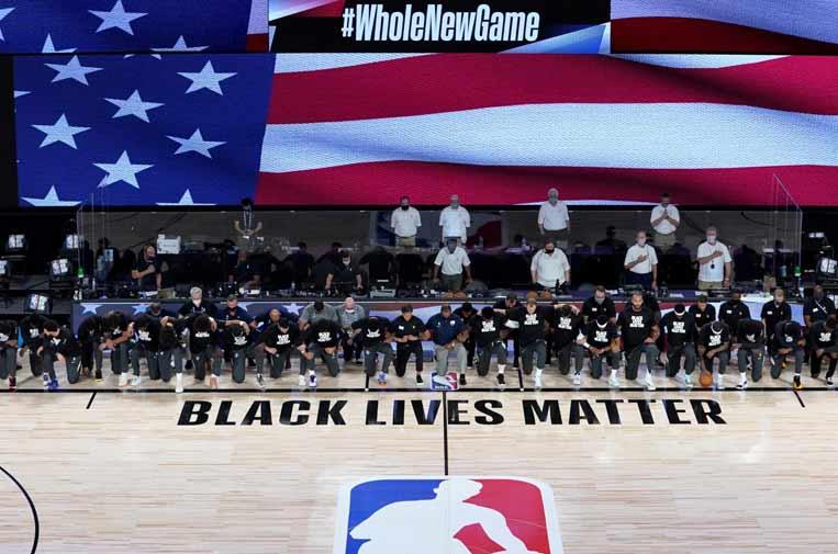 La NBA se alza contra el racismo