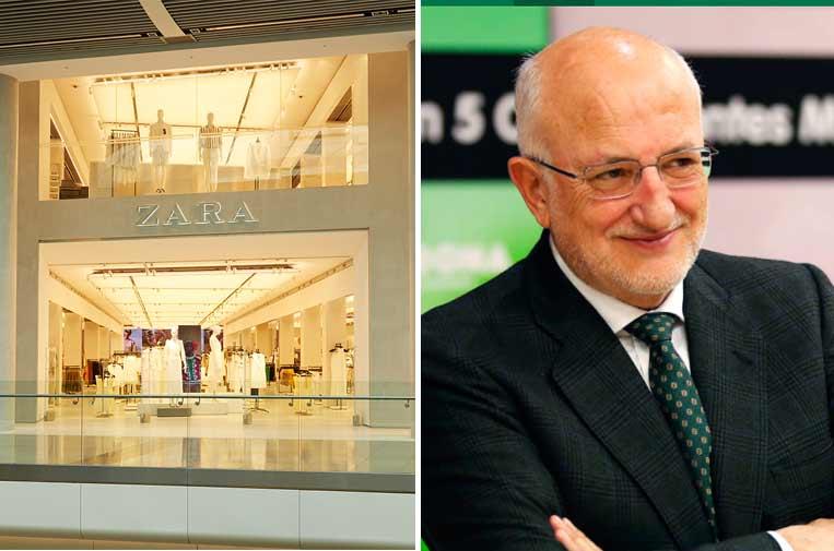 Inditex y Juan Roig, la empresa y líder más reputados de España, según Merco