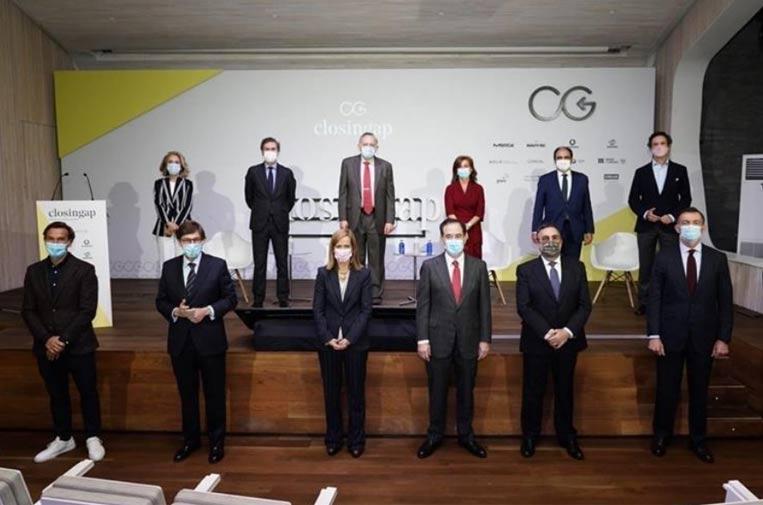 <p>Representantes de las empresas que componen ClosinGap.</p>