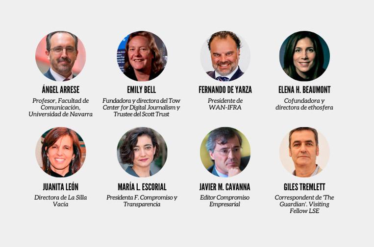 10 de noviembre: resultados del informe de transparencia de medios de comunicación
