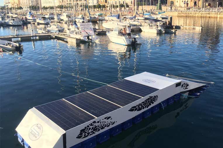 Prueban con éxito Clean-Dock para la limpieza de microplásticos en puertos