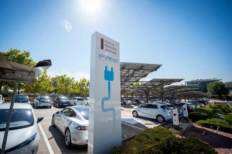 <p>Los puntos de recarga facilitan la electromovilidad.</p>
