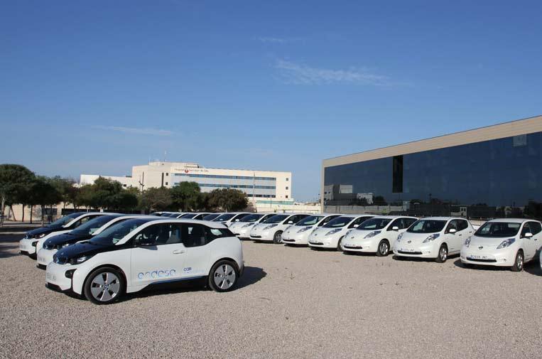 <p>Endesa anunció en 2019 que la mitad de su flota corporativa será eléctrica en tres años.</p>