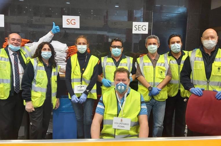 El Hospital de Ifema, Teléfono de la Espezanza y Proyecto hombre, entre los Premios Telefónica al Voluntariado