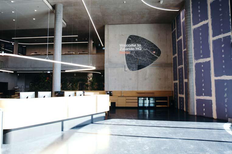 <p>Sede Berlín de Zalando.</p>