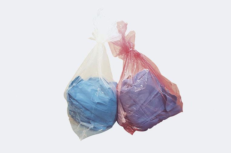 Bolsas de lavandería hidrosolubles contra la propagación del virus en hospitales y residencias