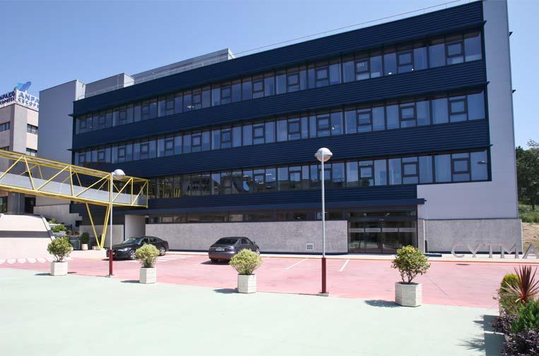 <p>CYTMA (Centro de Tecnologías Avanzadas de Investigación para la Industria Marina y Alimentaria). Foto: Anfaco-Cecopesca</p>