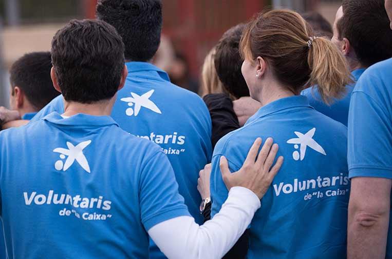 """<p>El voluntariado corporativo cambia el comportamiento del empleado hacia su empresa de forma significativa. Foto: Voluntarios """"la Caixa"""".</p>"""