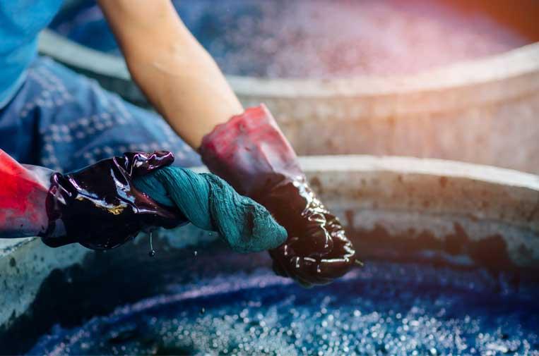 <p>La industria de fabricación de textiles es especialmente intensiva en agua.</p>