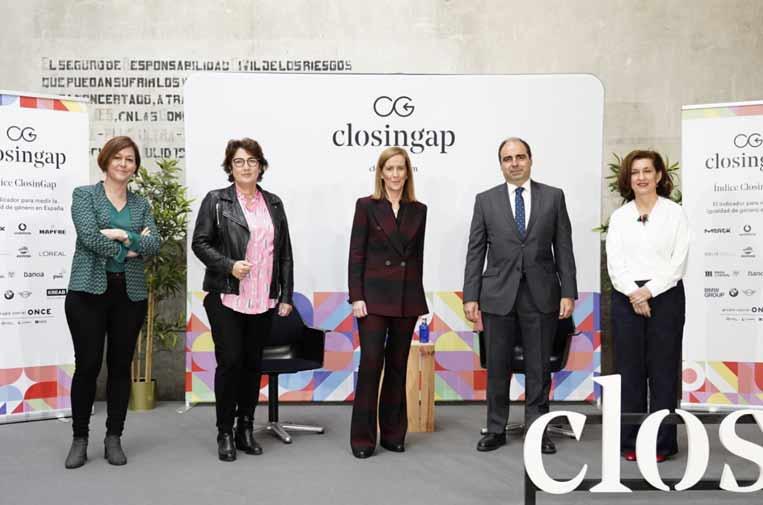 Cerrar las brechas de género aumentaría en un 18,5% el PIB español