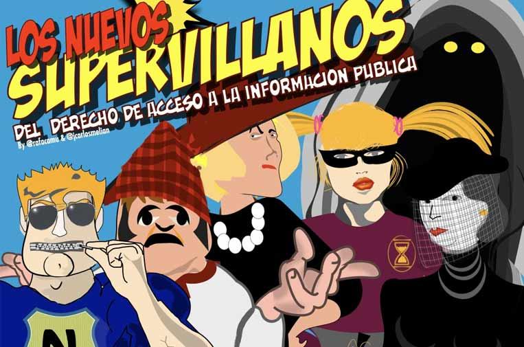 Los Dr. Excusatio, Nimú o de Morandi, los nuevos supervillanos de la transparencia