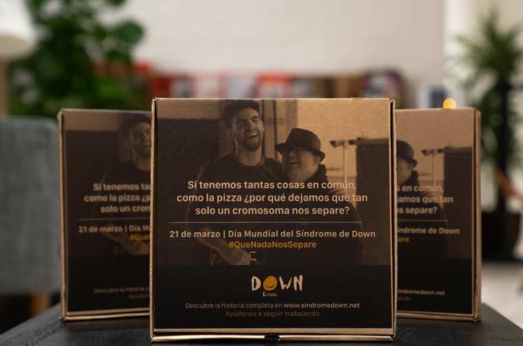 Las Cajas Solidarias dan voz a la campaña #QueNadaNosSepare por el Día del Síndrome de Down