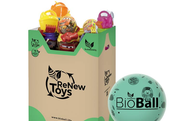 Mondo lleva la economía circular a los más pequeños con juguetes sostenibles