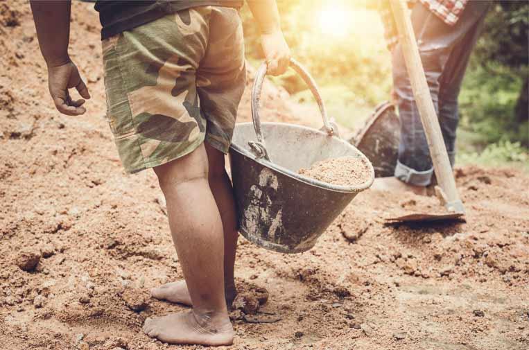 La esclavitud infantil todavía está por erradicar