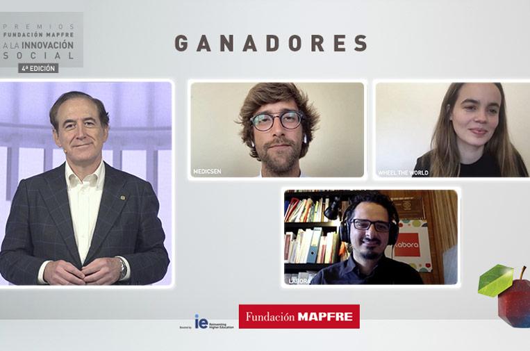 Tres proyectos internacionales ganan los Premios Fundación Mapfre a la Innovación Social
