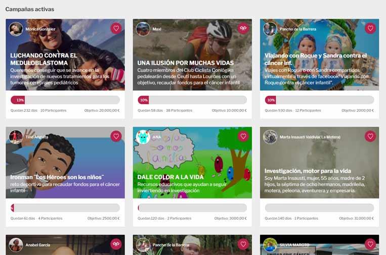 CRIS contra el cáncer lanza una plataforma de retos solidarios para recaudar fondos