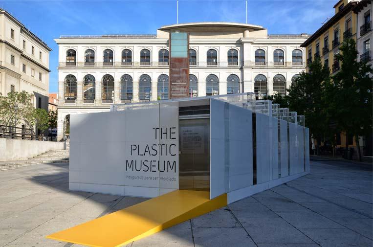 Madrid acoge el primer Museo del Plástico 100% reciclable del mundo
