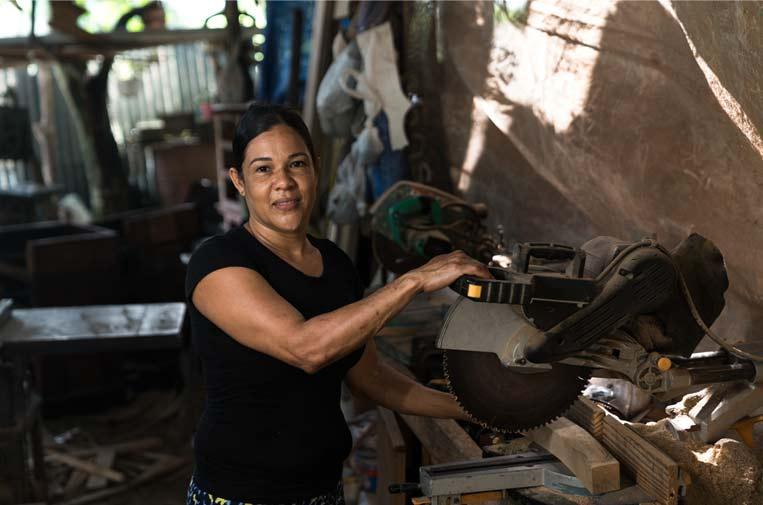<p>Sandra Ceballos, recicladora. Foto: FMBBVA</p>