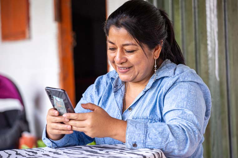<p>Luz Nelsy Rodríguez, emprendedora. Foto: FMBBVA.</p>