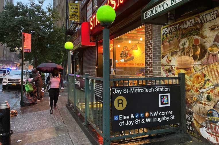 <p>El emprendimiento murciano ha llegado al Metro de Nueva York.</p>