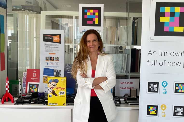 <p>Nuria Fructuoso, cofundadora de NaviLens.</p>