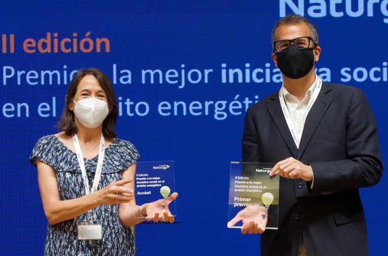 Fundación Exit, premiada por la formación de jóvenes vulnerables en el sector energía